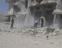 KİMYASAL SALDIRI - Rusya'dan İdlib açıklaması: Provokasyon görüntüleri çekmeye başladılar!