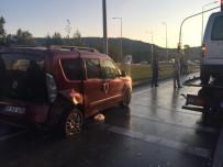 ÖMER YıLMAZ - Samsun'da Trafik Kazası Açıklaması 3 Yaralı