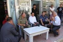TUGAY KOMUTANI - Şemdinli 34'Üncü Hudut Tugay Komutanı Tuğgeneral Kılıç Esnafı Ziyaret Etti