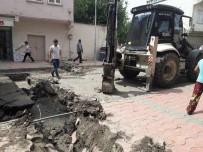 DOĞALGAZ HATTI - Silvan'da Kablolar Kesilince İnternetsiz Kaldı