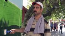 SIIRT BELEDIYESI - Sinoplu Çift Siirt'in Duvarlarını Süslüyor