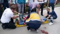 İNŞAAT MALZEMESİ - Traktörün Römorkundan Düşen Adam, Kendisini Unuttu Traktörü Sordu