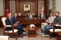 TÜRSAB Doğu Karadeniz Heyeti Vali Ali Hamza Pehlivan'ı Ziyaret Etti