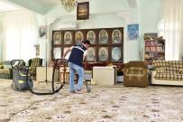 Zeynel Abidin Türbesi'nde Temizlik Çalışması Yapıldı