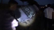 Aksaray'da İki Otomobil Çarpıştı Açıklaması 4 Yaralı