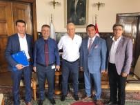 ÜST GEÇİT - Başkan Bakıcı TCDD Bölge Müdürü Nihat Aslan'ı Ziyaret Etti