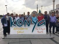 GÖRME ENGELLİ - Çardak Belediyesi 15 Engelli Vatandaşı Konya'ya Geziye Gönderdi