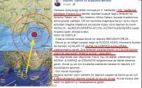 ŞİLİ - Depremi 1 Gün Önceden Bildi