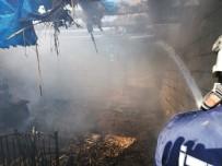 Doğubayazıt'ta Çıkan Yangın Korkuttu