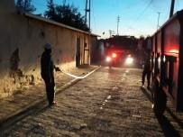 Elbeyli'de Suriyeli Ailenin Evi Yandı