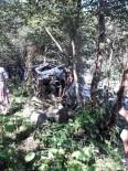 Giresun'da Trafik Kazası  Açıklaması 1 Ölü, 5 Yaralı