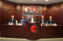 GAZIANTEP TICARET ODASı - GTO Yönetim Kurulu Ve Meclis Başkanlık Divanı Komite Başkanları İle Bir Araya Geldi