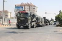 İdlib Sınırına Obüs Ve Tank Sevkıyatı