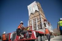 İmam Abdullah Türbesi'nin Minaresi Taşınmaya Başlandı