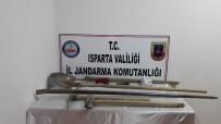 KAÇAK KAZI - Isparta'da Kaçak Kazı Yapan 5 Şahıs Yakalandı