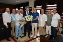 SOSYAL HAYAT - Matso Başkanı Boztaş'tan Başsavcı Yılmaz'a Ziyaret