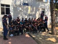 Mersin'de Göçmen Kaçakçılığı Operasyonu