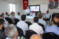 Samsat'ta Güvenli Eğitim Toplantısı Yapıldı