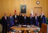 Samsun Heyeti, Meclis Başkanı Yıldırım'ı Ziyaret Etti