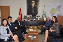 Singapur'un Ankara Büyükelçisi, Başkan Albayrak'a Başarılar Diledi