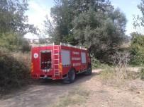 Tarlada Yakılan Ateş İtfaiyeyi Harekete Geçirdi