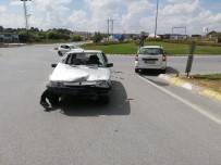 FEVZIPAŞA - Tekirdağ'da Trafik Kazası Açıklaması 1 Yaralı