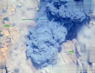 Terörist gösterdi TSK vurdu