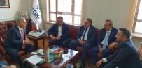 NEVŞEHİR BELEDİYESİ - AK Parti Nevşehir Heyeti TOKİ Başkanı Turan İle Yatırımları Değerlendirdi