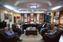 Akçayspor' Başkan Yılmazer'e Ziyaret