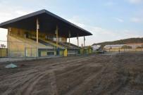 HAKAN ŞIMŞEK - Aliağa İlçe Stadında Çimler Yenileniyor