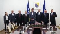 SARAYBOSNA - Anayasa Mahkemesi Başkanı Arslan Bosna Hersek'te