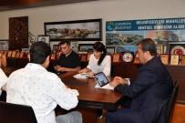 Başkan Çetin, Klavye Başında Sorun Çözüyor