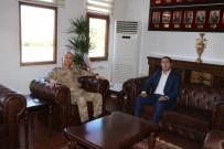 Başkan Kahraman'dan Asayiş Kolordu Komutanı Tümgeneral İlbaş'a Hayırlı Olsun Ziyareti