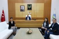 BM Mülteciler Yüksek Komiserliği Üyelerinden Başkan Toçoğlu'na Ziyaret