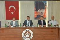 ERSIN YAZıCı - Eğitimde Güvenlik Toplantısı Yapıldı