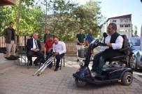 AFYONLU - Engelli Kaymaz'a Belçika'dan Elektrikli Araç Hediye Edildi