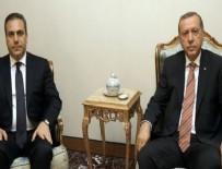 Erdoğan, Hakan Fidan ile görüştü