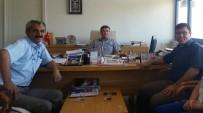 DIYALOG - Esnaf Temsilcilerinden Didim Vergi Dairesi'ne Ziyaret
