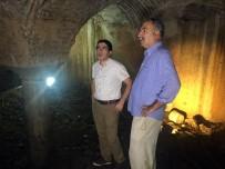 MİMARİ - Fatih'te Bizans Dönemine Ait 1500 Yıllık Sarnıç, Tekrardan Gün Yüzüne Çıktı
