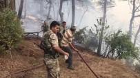 Hatay'daki Orman Yangını 6 Saattir Devam Ediyor