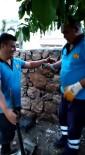 İki Duvar Arasına Sıkışan Yavru Kedi İtfaiye Ekiplerince Kurtarıldı