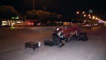 Kaza Yapan Otomobil Elektrikli Bisiklete Çarptı Açıklaması 1 Yaralı