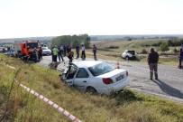 Kırklareli-Edirne Yolunda Feci Kaza Açıklaması 4 Ölü