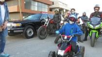KEMOTERAPI - Motosiklet Tutkunlarından Lösemiyi Yenen Yusuf Ege'ye Sürpriz
