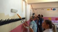 BÜŞRA ŞAHİN - Fedakar Öğretmenler Okullarını Eğitim-Öğretime Hazırlıyor