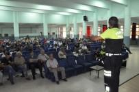 Polisler Öğretmenlere Trafik Eğitimi Verdi