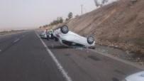 Şanlıurfa'da Otomobil Devrildi Açıklaması 4 Yaralı