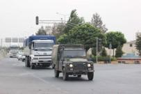 Suriye'ye Mühimmat İle Zırhlı Araç Sevk Edildi