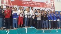 BRONZ MADALYA - Tekvando Şampiyonasında Tepebaşı Farkı