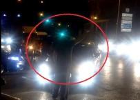 ARAÇ KONVOYU - Trafik Magandaları Terör Estirdi